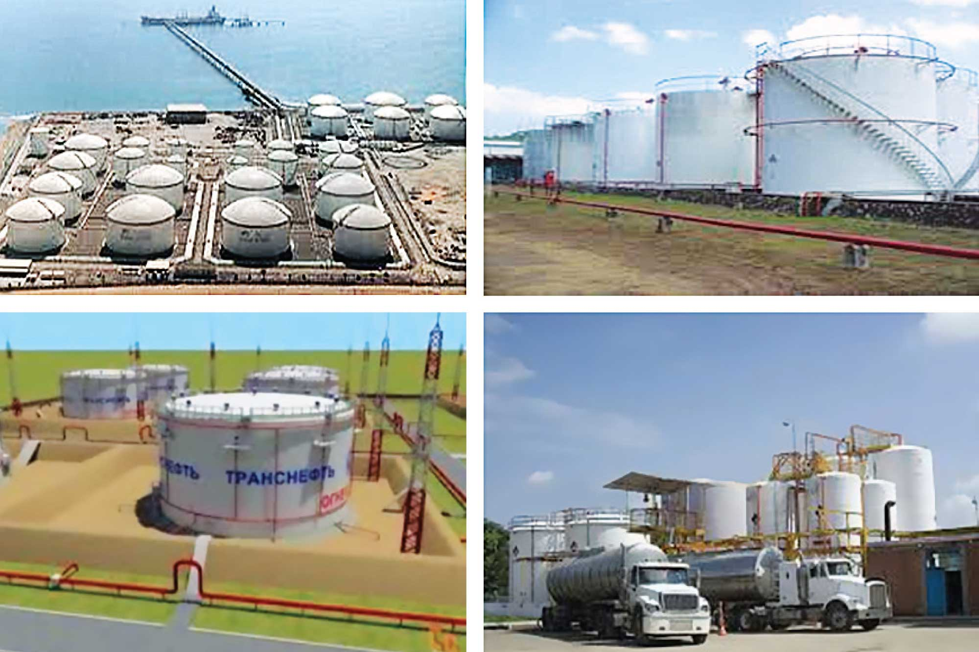 How to deal with safety aspects of tanks and tank farms