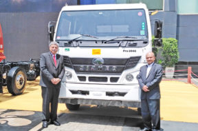 Eicher launches BSIV compliant range of heavy duty trucks