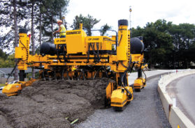 Schwing Stetter India partners with GOMACO for concrete paving