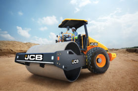 JCB 116 Soil Compactor delivers better compaction rate