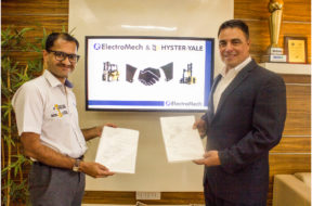 ElectroMech and Hyster-Yale join forces in India