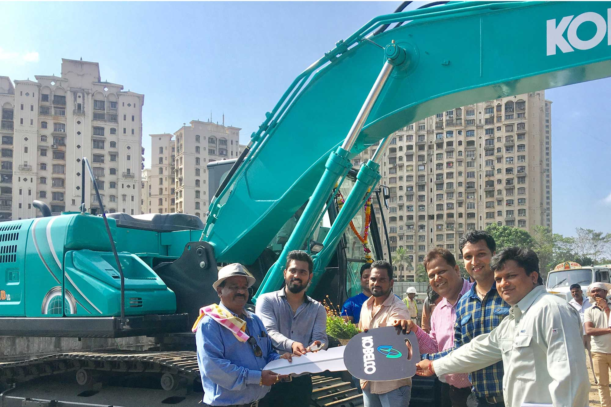 Naidu's Infracon puts its trust in Kobelco's10th generation model