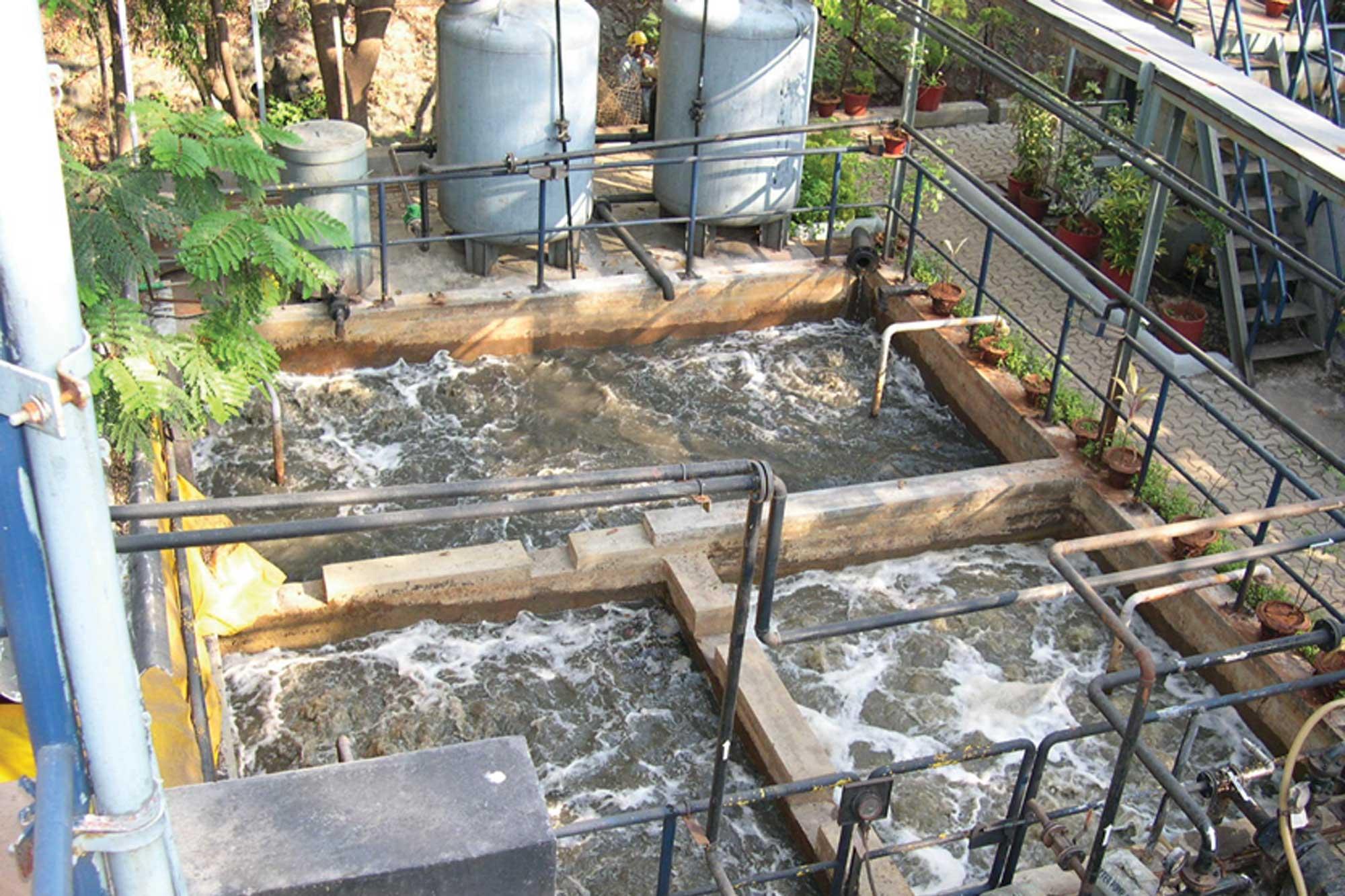 COD reduction in API (Bulk Drug) wastewater treatment plant