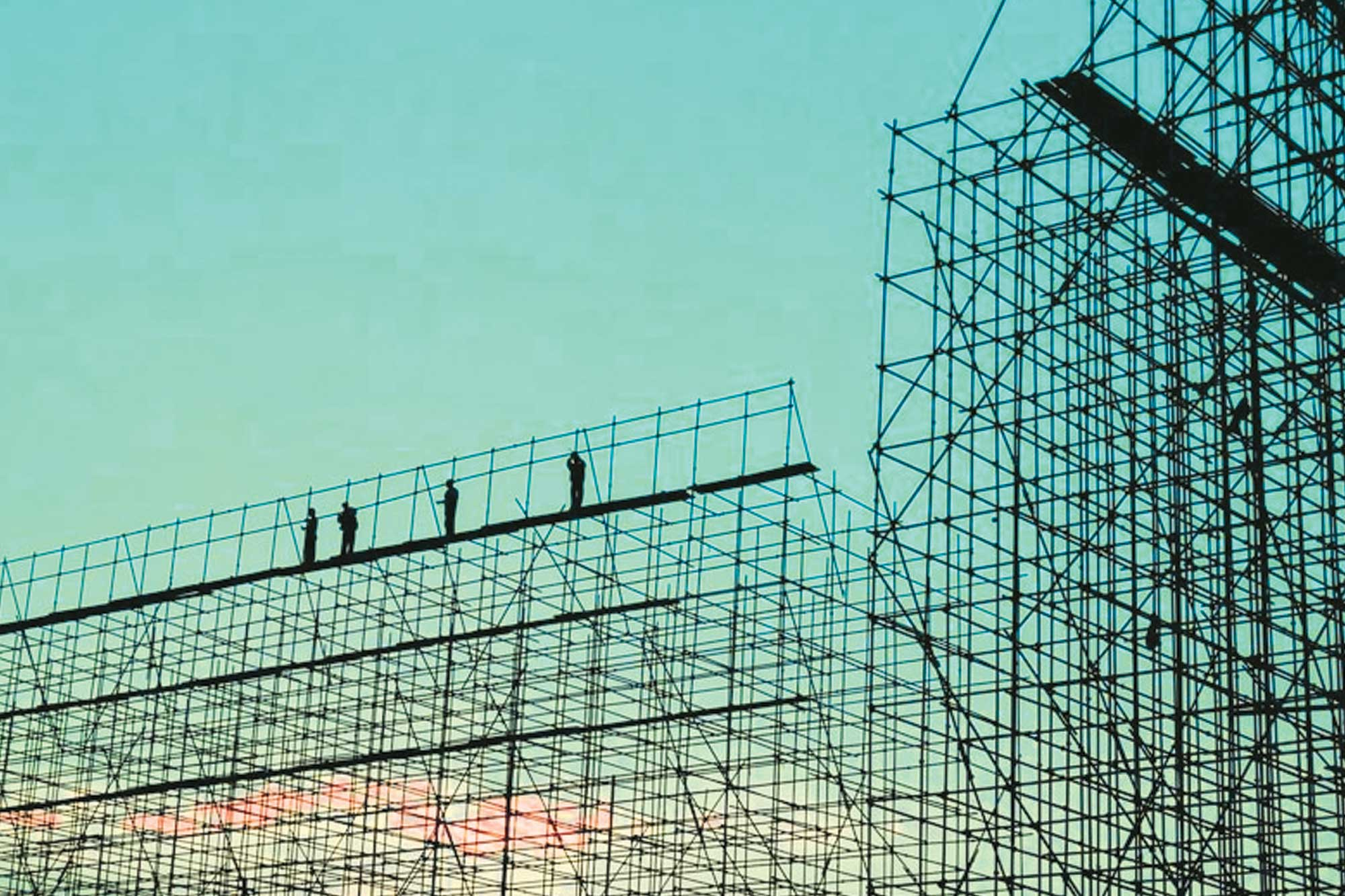 Anish Scaffolding helps building high-rise