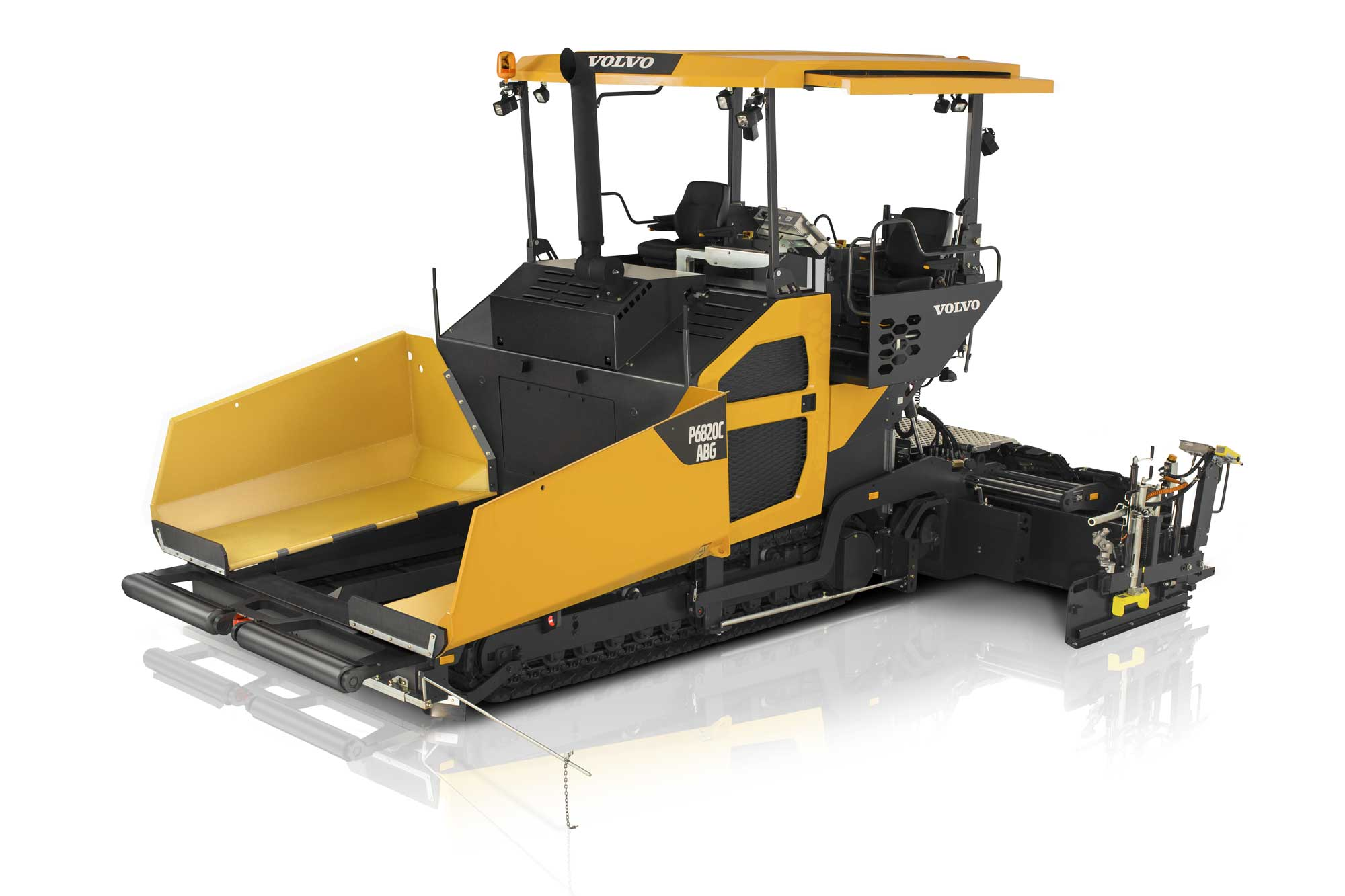 Volvo launches P6820C ABG paver into India