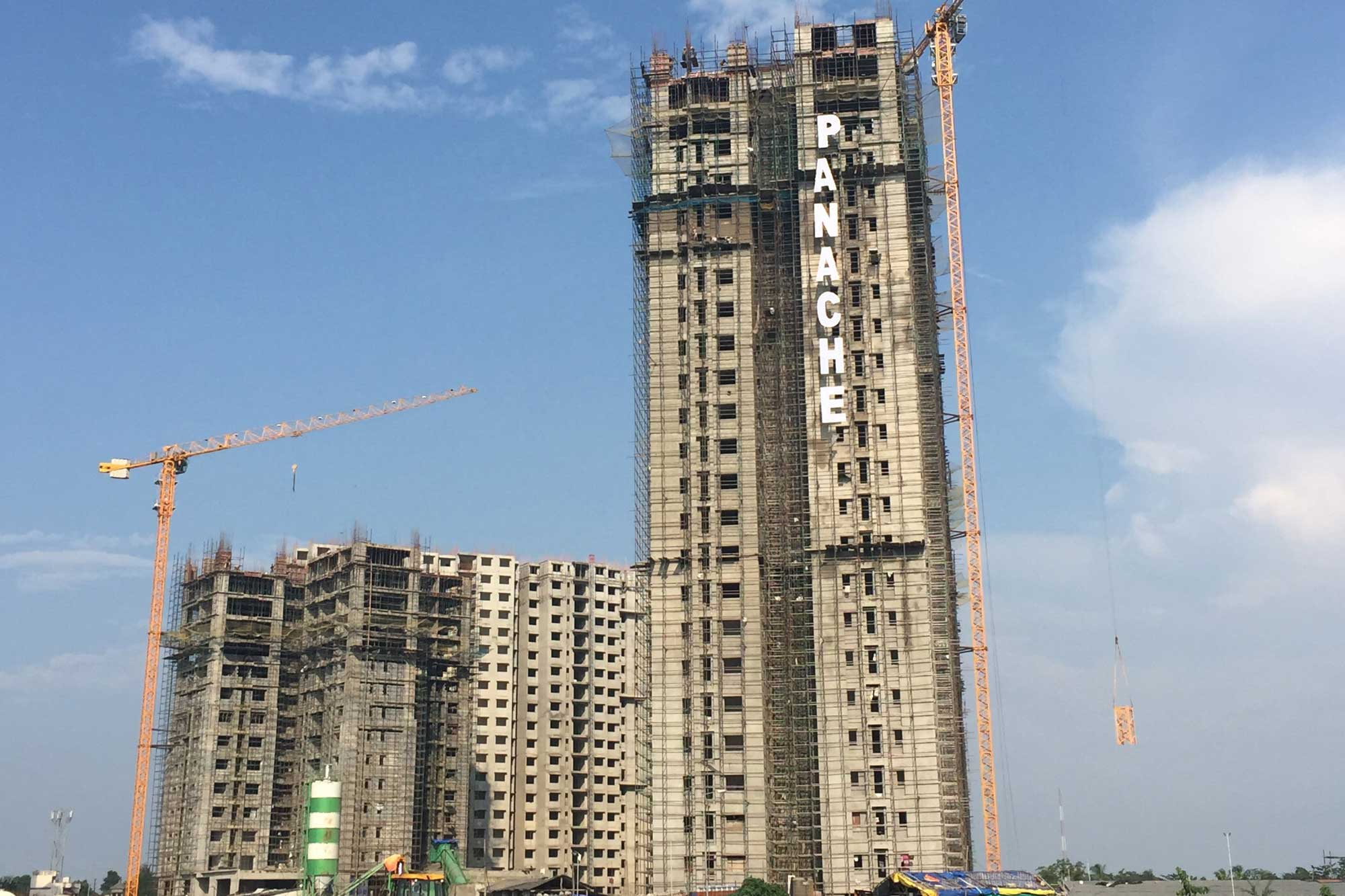 Potain cranes help deliver luxury residences in Kolkata