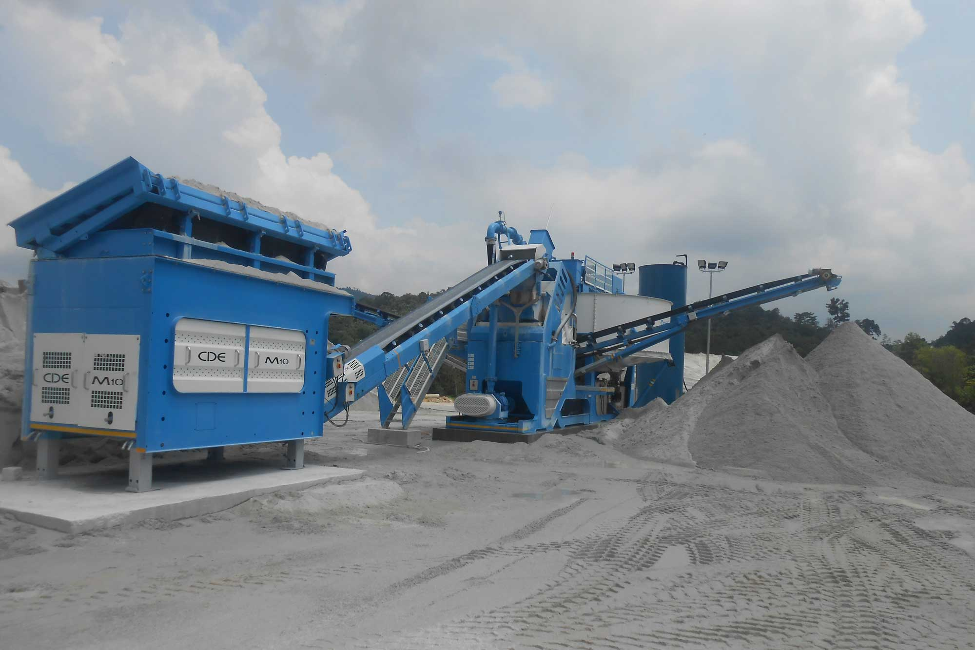 Manufactured sand comes to the rescue of sand shortages