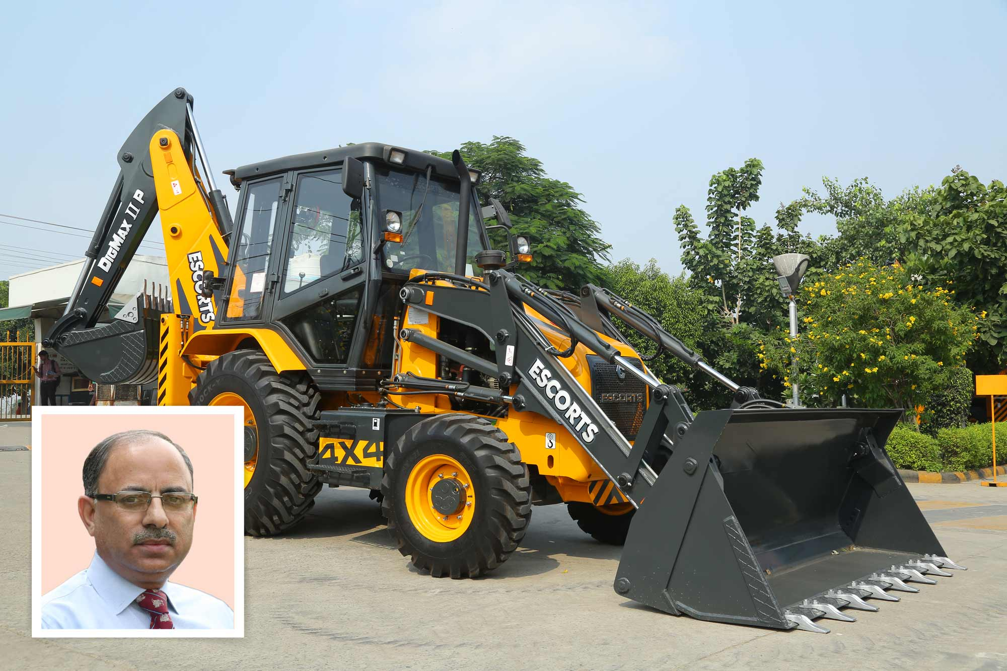 Escorts CE aims to boost exports with DIGMAX-II P Backhoe Loaders