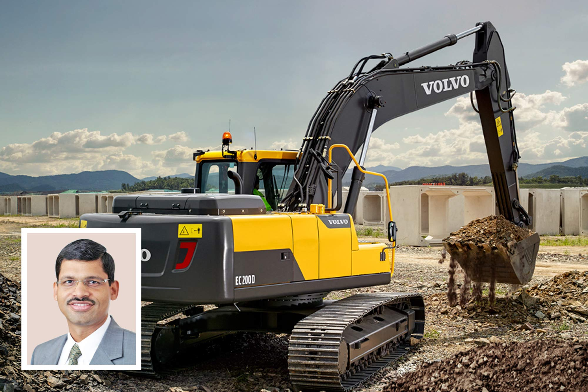 Volvo CE targets to expand its customer base