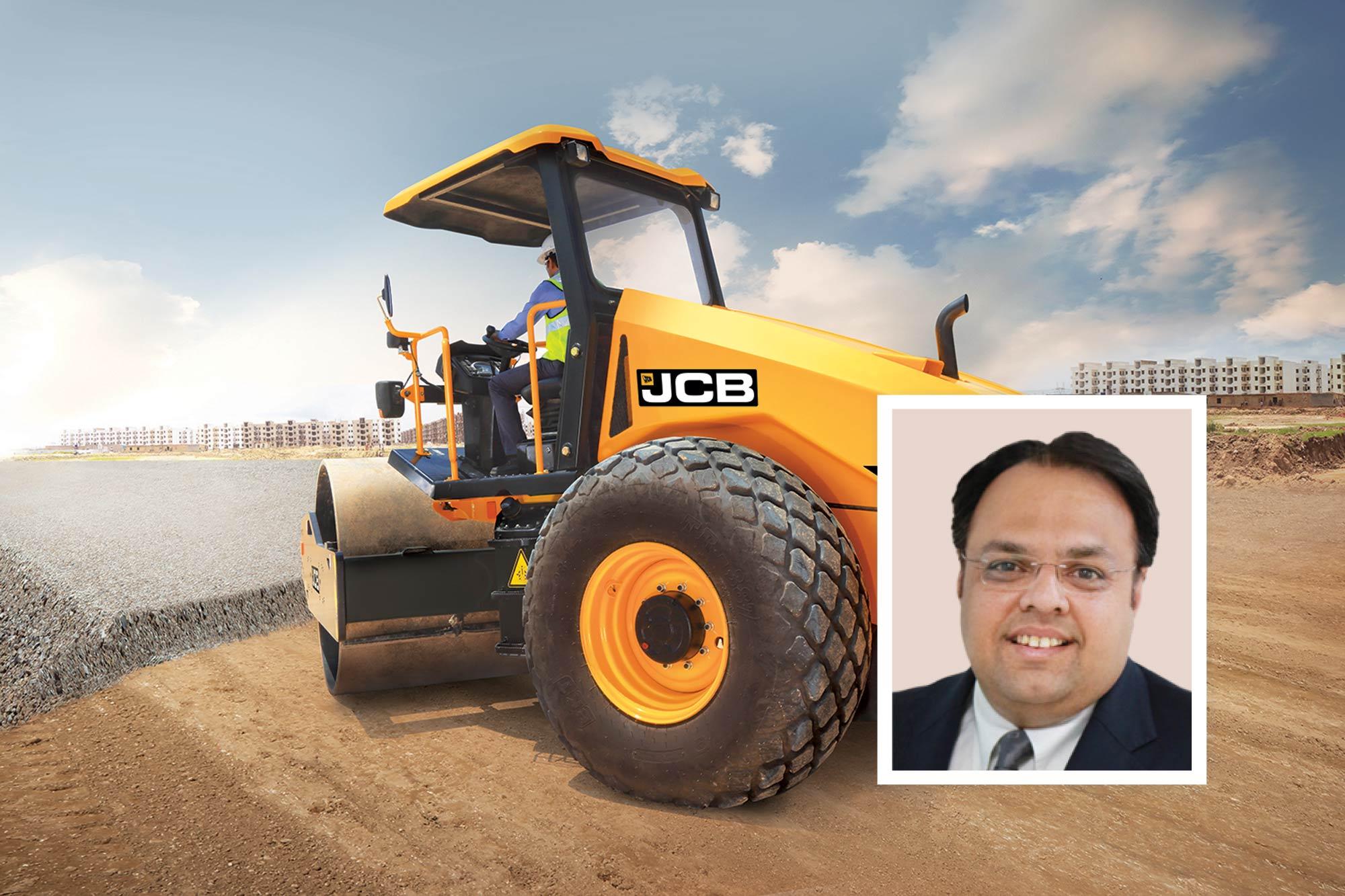 JCB brings revolutionary solutions for road making