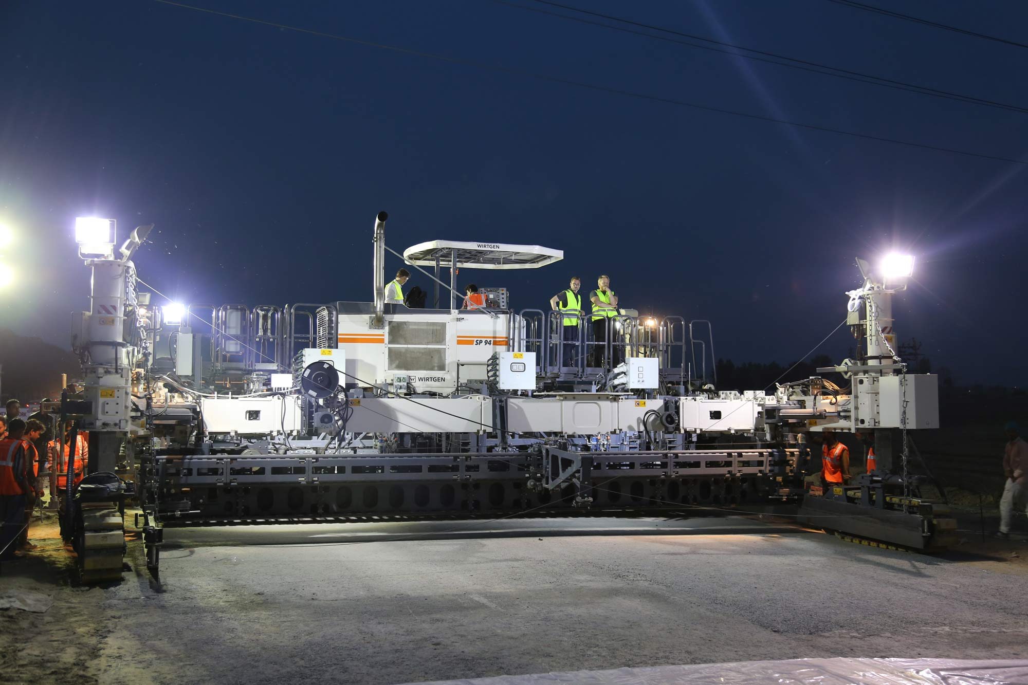 WIRTGEN: Paving high-quality concrete slabs