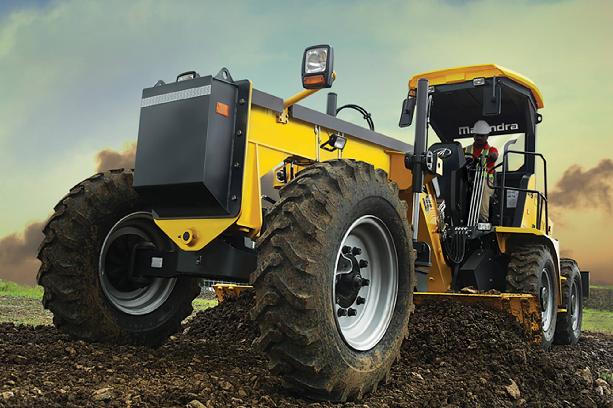 Enhancing motor grader performance with machine control