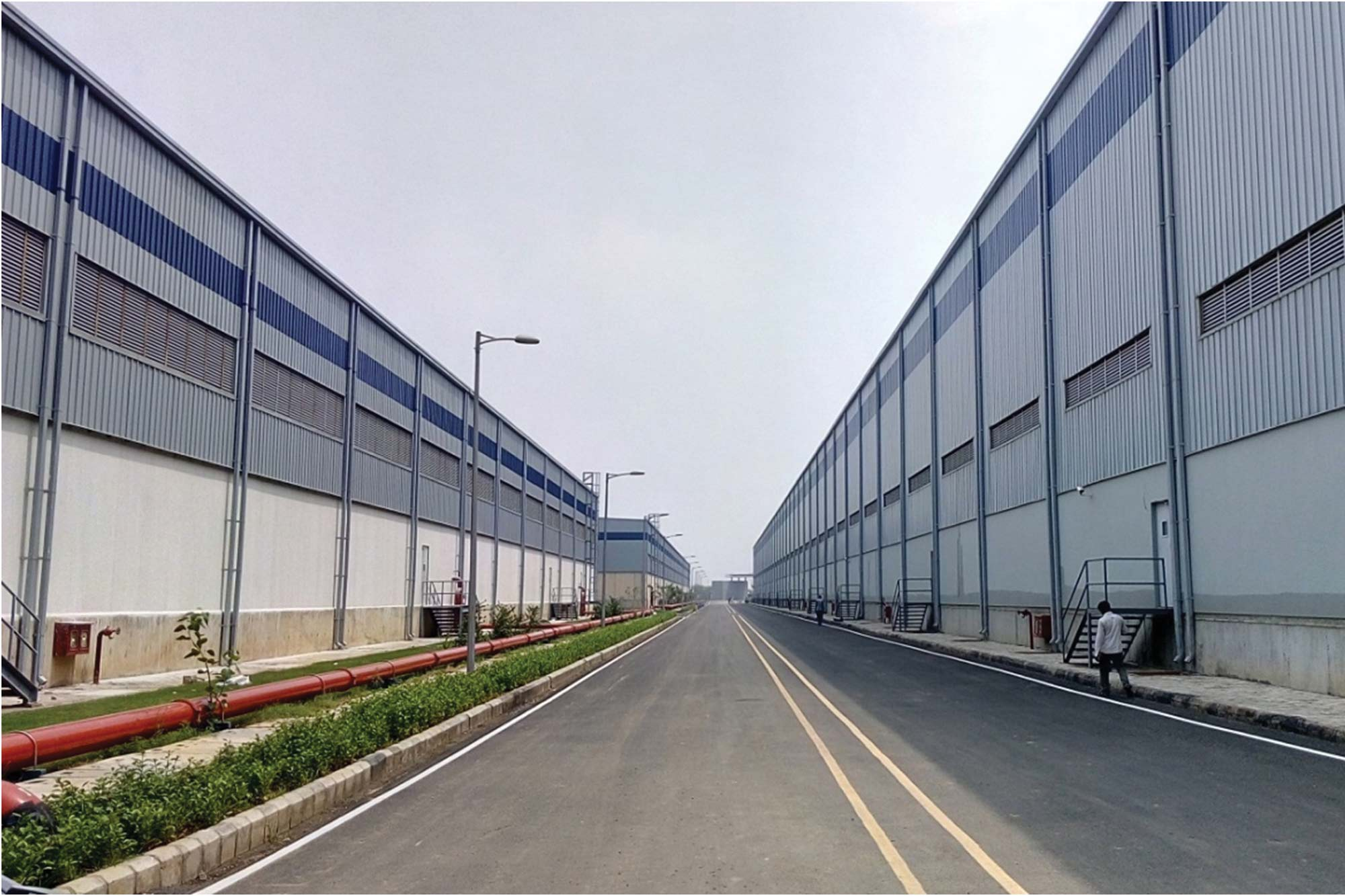 Interarch delivers pre-engineered warehouse for  Indospace