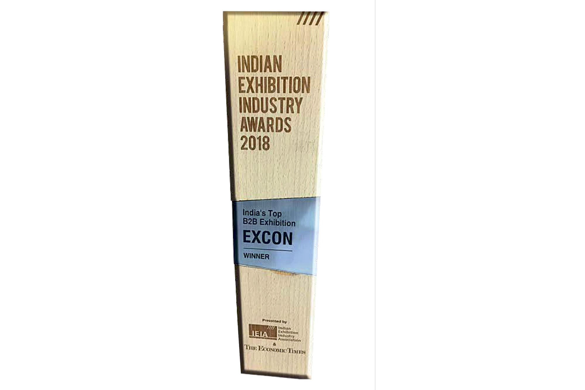 "EXCON awarded ""Top B2B Exhibition in India"""