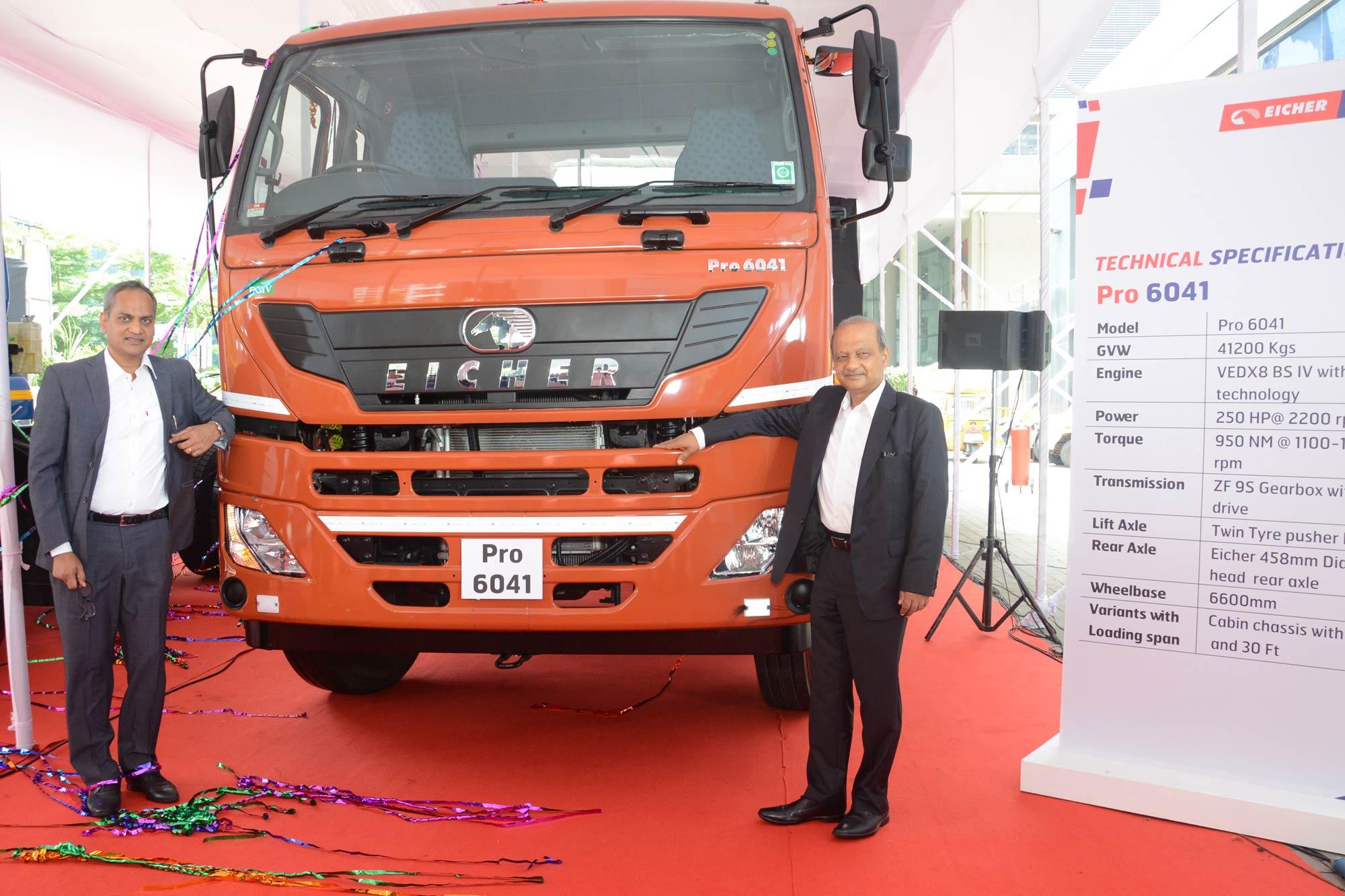 Eicher Trucks & Buses rolls out two heavy duty trucks