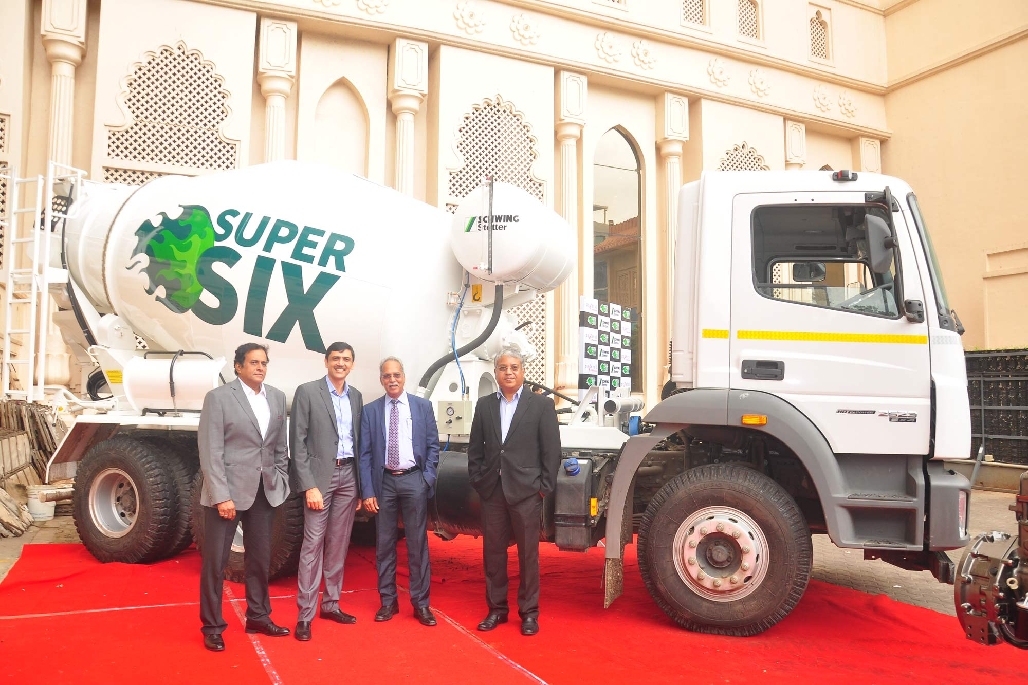 Schwing Stetter joins hands with Mahindra Powerol to launch Super Six