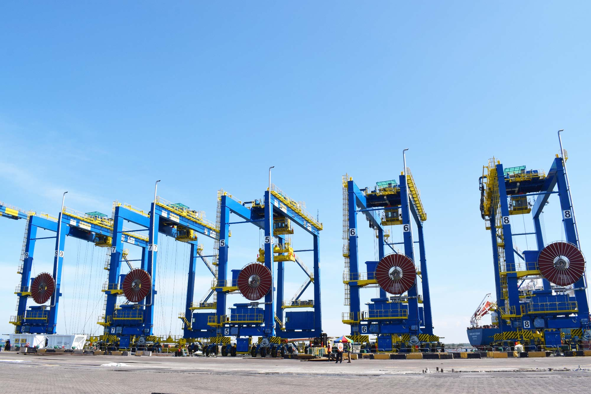 Krishnapatnam Port-Commissions five e-RTGCs