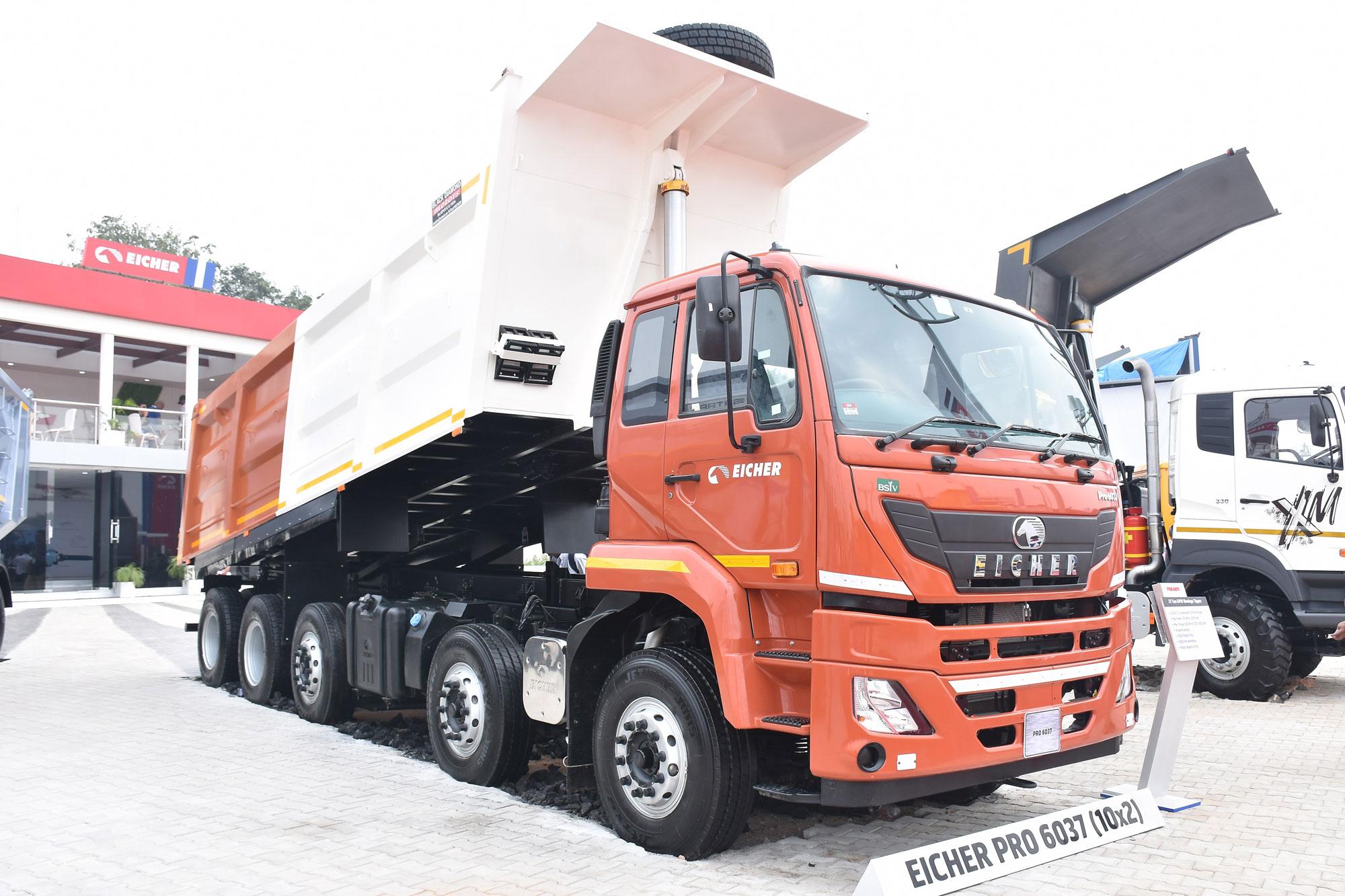 Eicher Trucks & Buses to supply heavy duty trucks