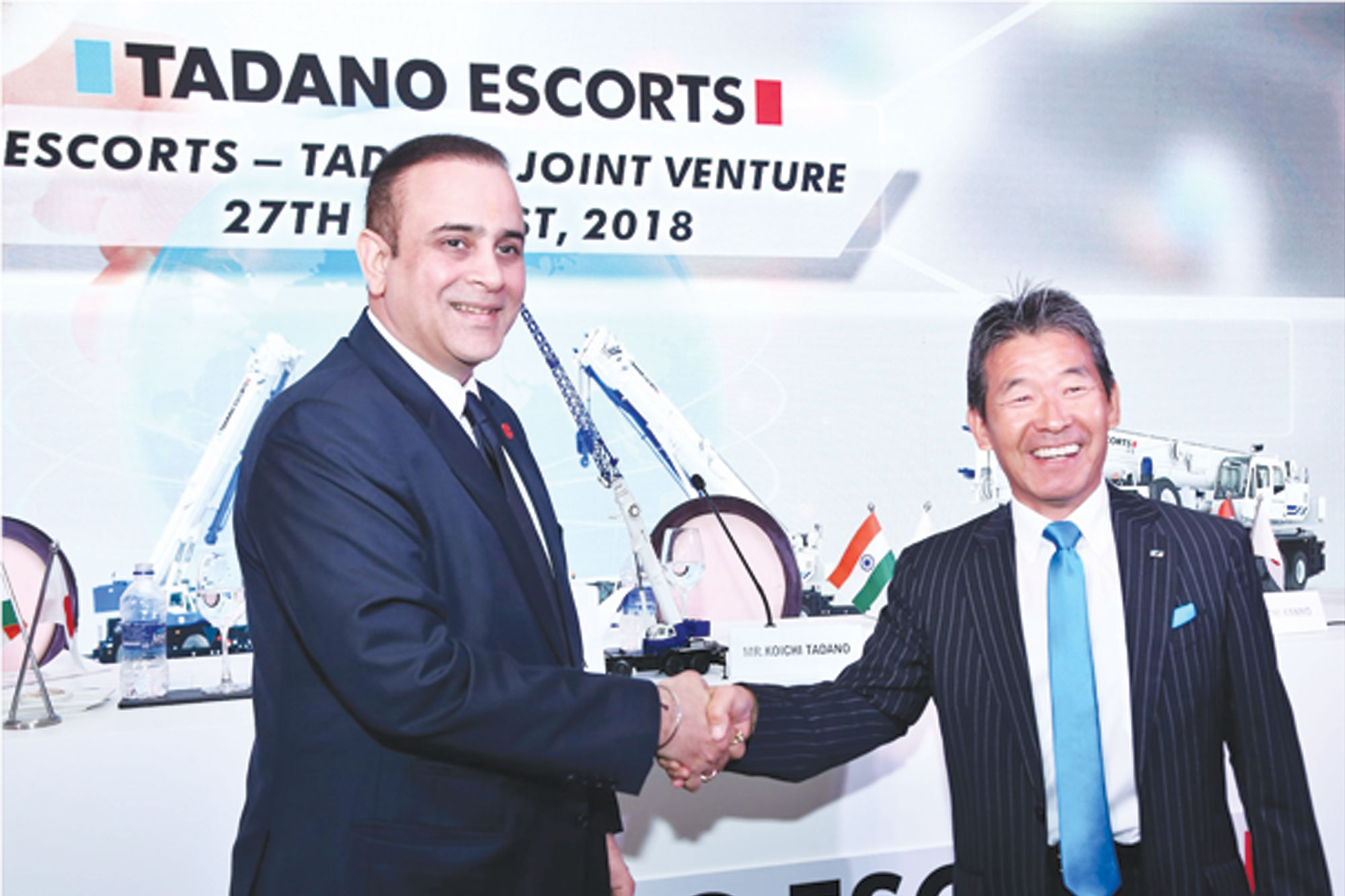 Escorts joins hands with Tadano group for mobile cranes