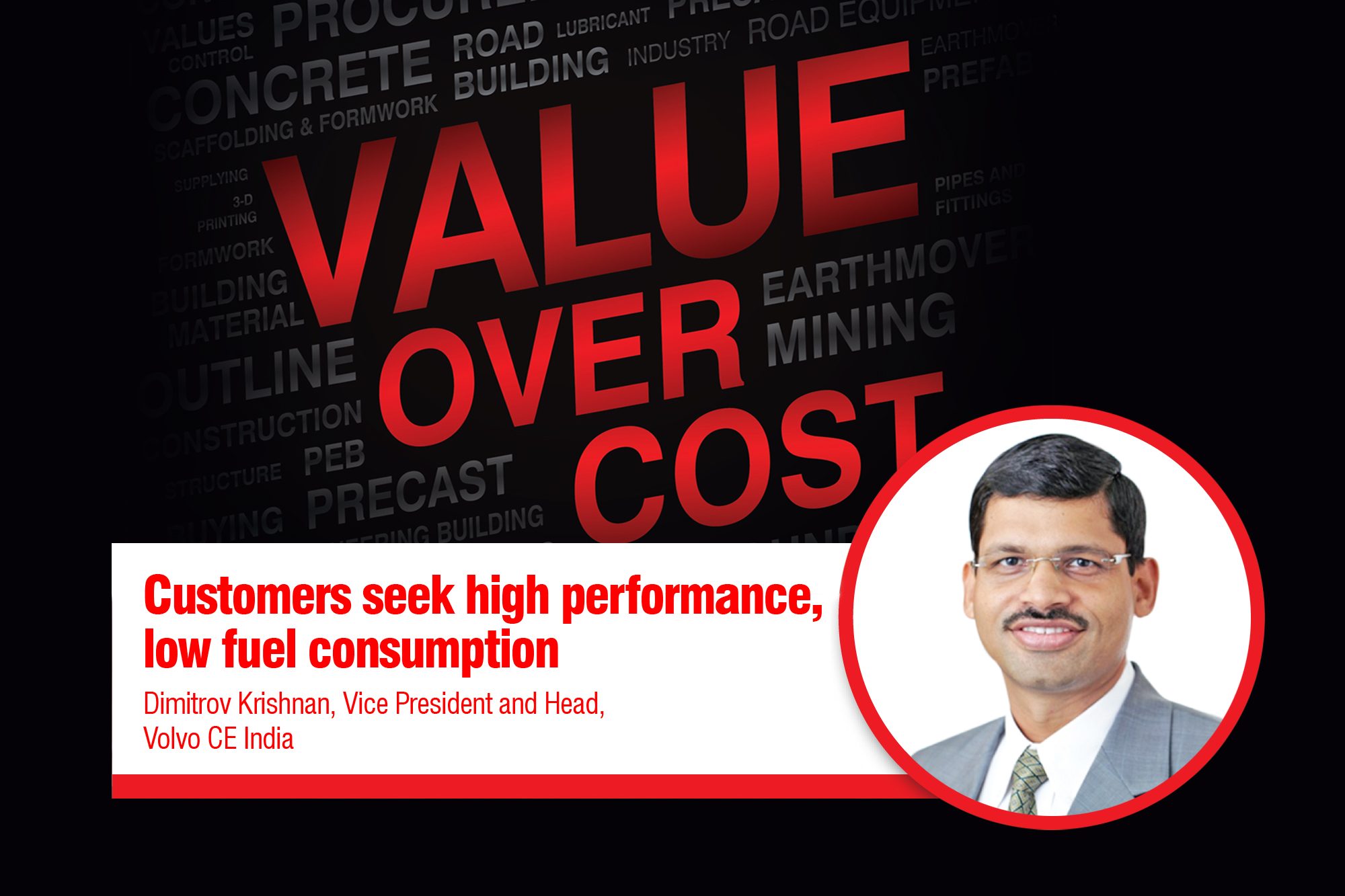 Customers seek high performance, low fuel consumption