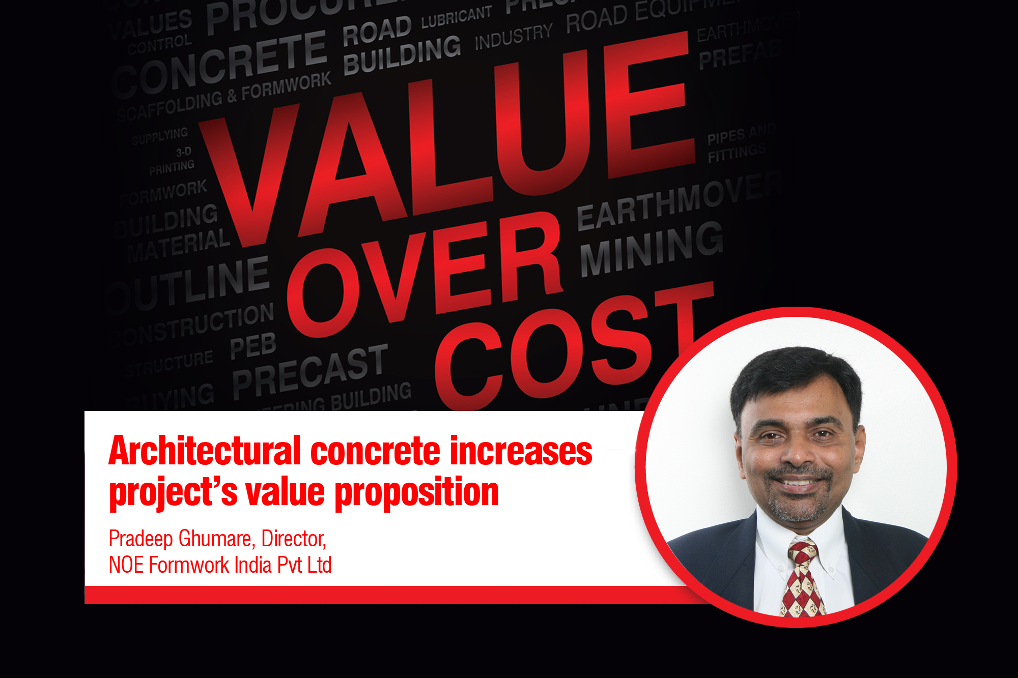 Architectural concrete increases project's value proposition