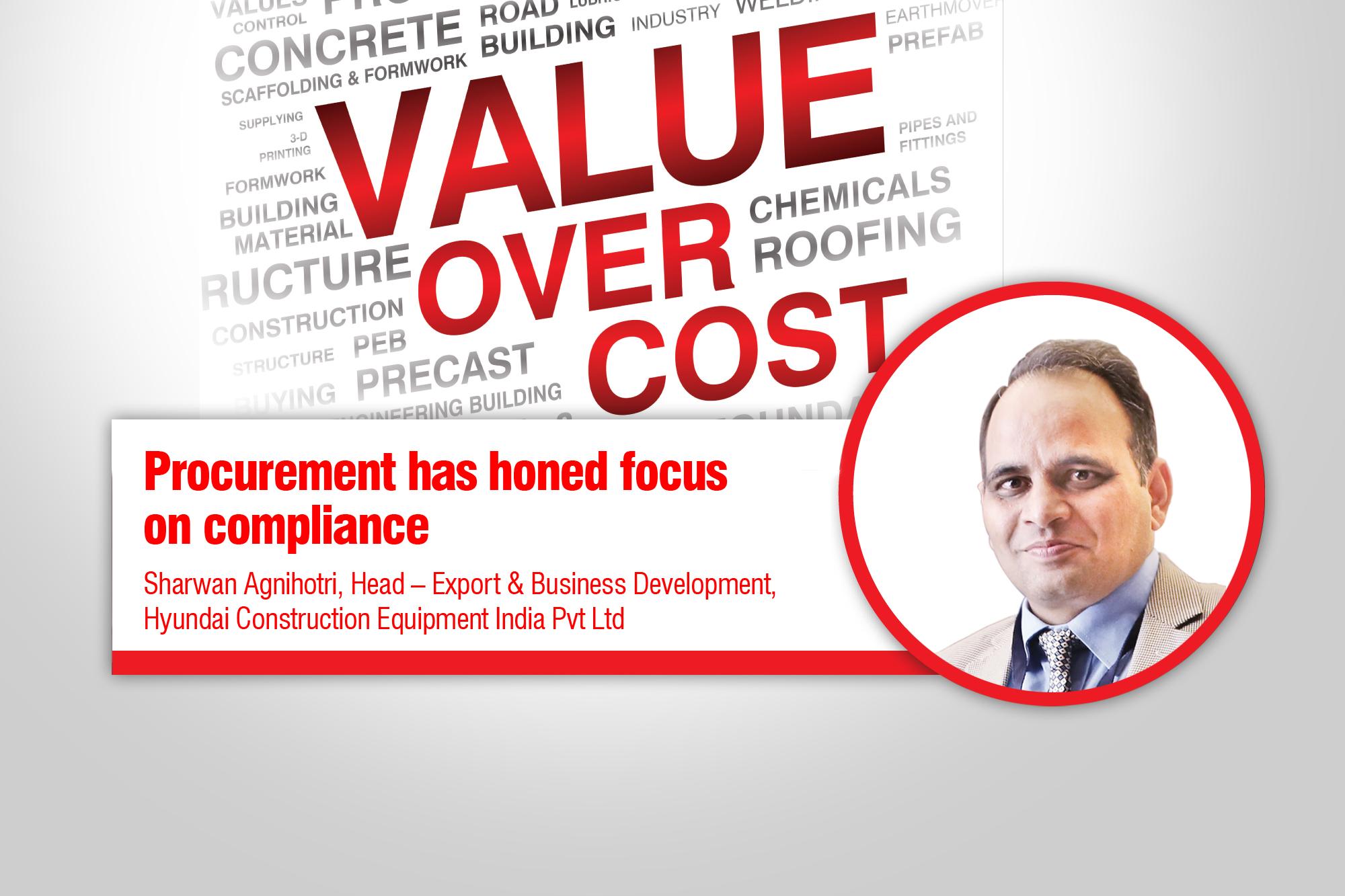 Procurement has honed focus on compliance