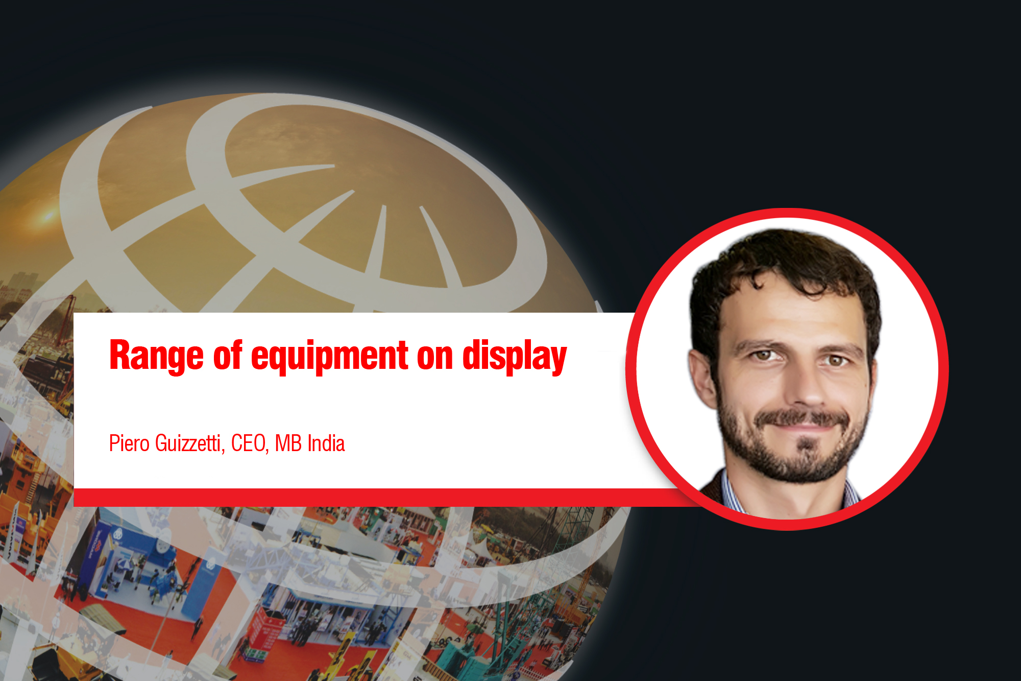Range of equipment on display