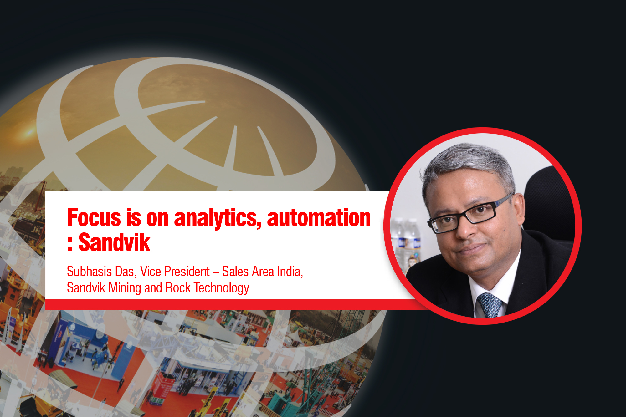 Focus is on analytics, automation: Sandvik
