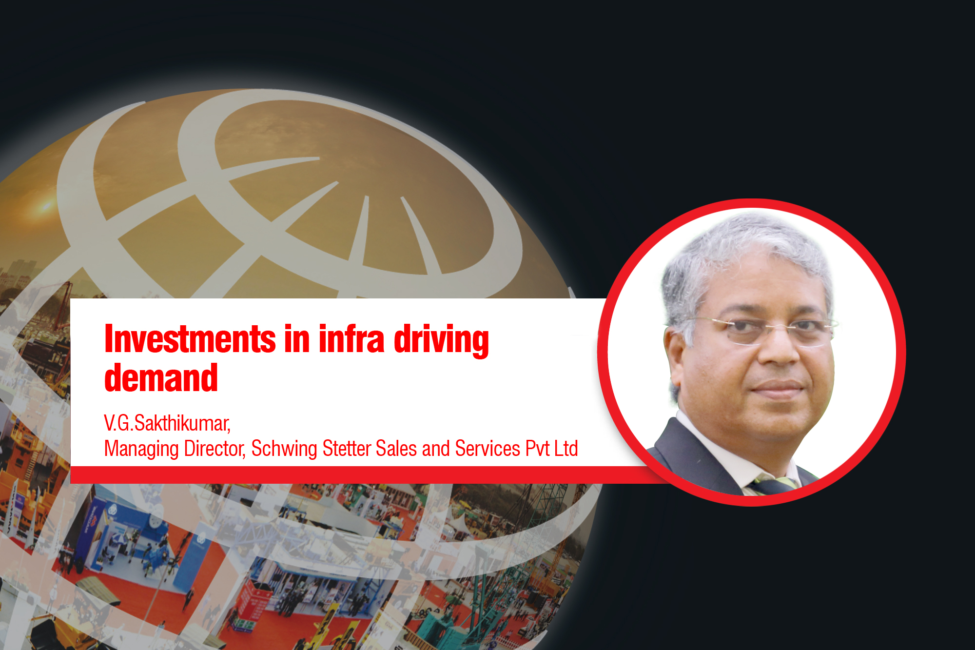 Investments in infra driving demand