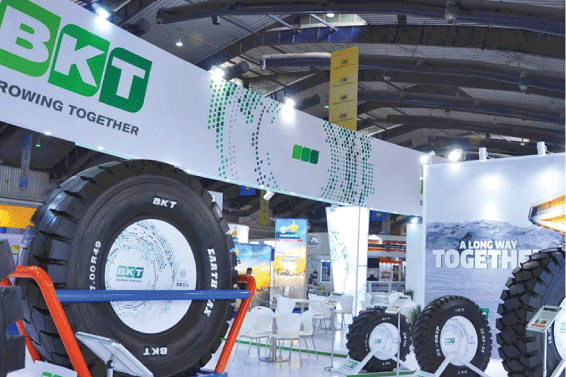 BKT to display high performance OTR, industrial tires at bc India 2018