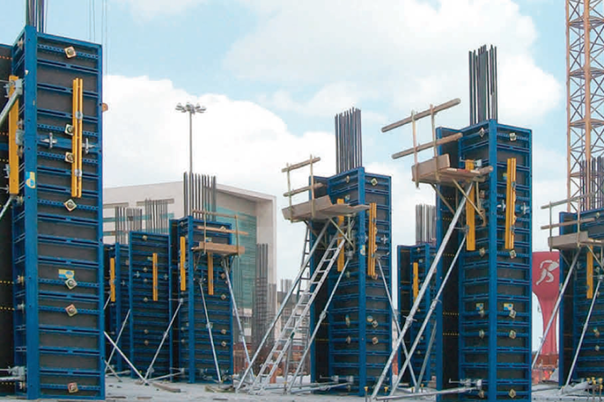 Catering to future demand for system formwork