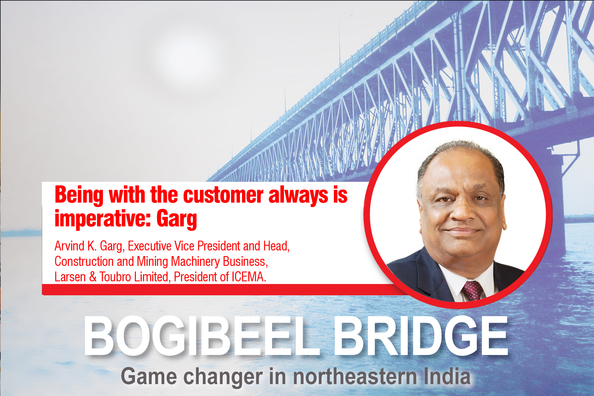 Being with the customer always is imperative: Garg